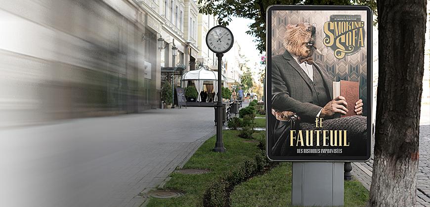 Notre affiche primée au Jury du Festival d'Avignon